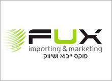 FUX - לוגו לחברה בתחום ייבוא ושיווק
