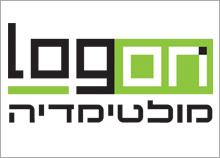 LOGON - עיצוב לוגו לחברת מולטימדיה