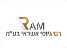עיצוב לוגו לחברת גיוס אשראי - רם