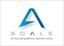עיצוב לוגו בניה וניהול פרויקטים - SCALE