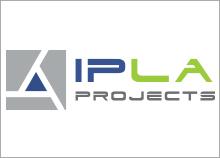 חיפויים למבנים - עיצוב לוגו IPLA PROJECTS