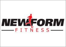 עיצוב לוגו למכון כושר NEWFORM
