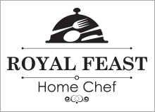 עיצוב לוגו לשף פרטי - ROYAL FEAST