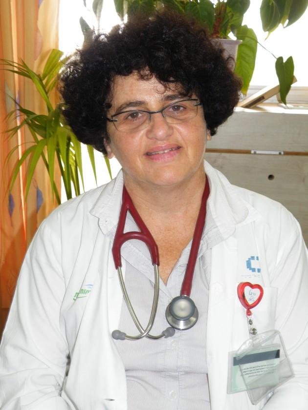 דר דבי זיסמן, יור ועדת ההוראה והאקדמיה של בית החולים כרמל. צילום אלי דדון