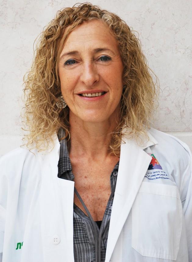 דר גילת לבני, מנהלת מחלקת ילדים א, מרכז שניידר לרפואת ילדים. צילום דוברות מרכז שניידר