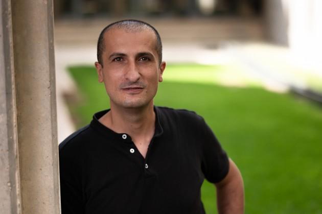 דר אעיד אגבריה, צילום דני מכליס אוניברסיטת בן-גוריון בנגב