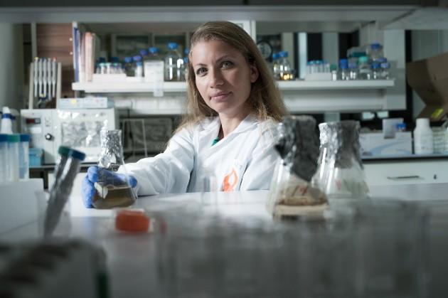 """ד""""ר קרינה גולברג. צילום דני מכליס אוניברסיטת בן גוריון בנגב"""