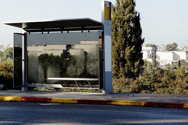 תחנת אוטובוס בירושלים. צילום ויקיפדיה