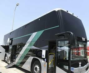 אוטובוס בינעירוני נגיש. צילום באדיבות משרד התחבורה