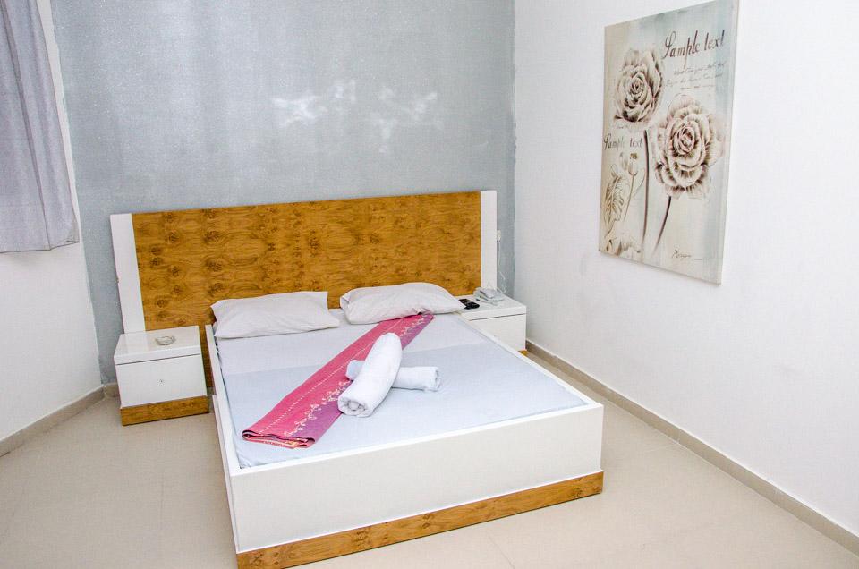 מיטה מפנקת בגאיה חדרים