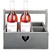 מעמד מעוצב לבקבוקי יין