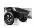 עגלה שחורה למכוניות באדי