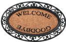 שטיח סף welcome goodbye