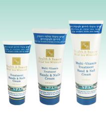 Hb mer morte - Crème Multivitaminée traitement intensif des mains et des ongles 100ml
