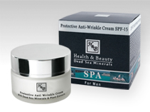hbdeadsea -  Protective Anti-Wrinkle Cream SPF-15 - 50ml