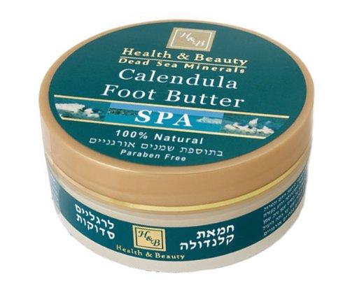Hb mer morte - Beurre de Calendula pour pieds fissurés et craqués - 100% naturel