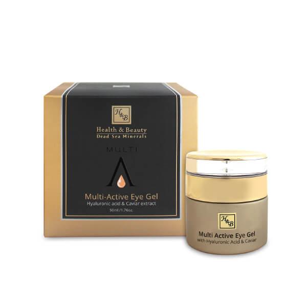 H&B mer morte - Gel Yeux multi-actif à l'acide hyaluronique et à l'extrait de caviar