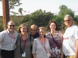 Leo-Finland,Anne,Issy and sister-Scotland,Charlie-Usa,Mimmo-Italy,Nicosia 2011