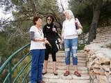 לנה ומרים עם הלה בירושלים With Hela