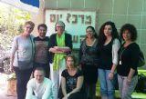תמונה קבוצתית במרכז יום לקשיש בבאר שבע