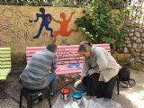 Visit to elderly community center in Herzelia