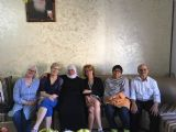 Participants at Druz family in the Golan