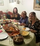 Dinner at Miriam´s home