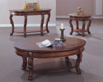 שולחן סלון מעץ B0785C