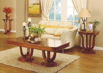 שולחן סלון מעץ B0703