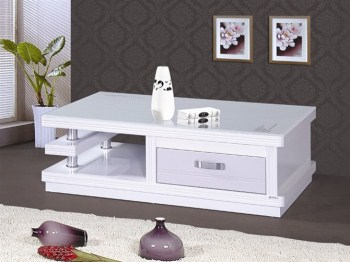 שולחן סלון B-02  לבן