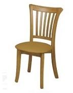 כסא לפינת אוכל מעץ מלא דגם C-339 מושב רך