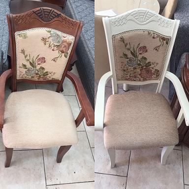 כסא לפינת אוכל מעץ מלא - B81