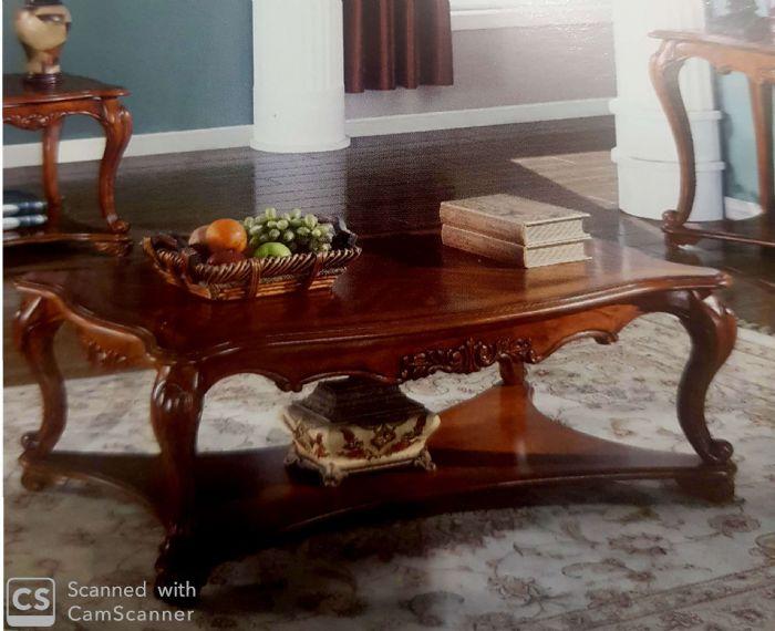 שולחן סלון עץ מעוצב # HSC1607