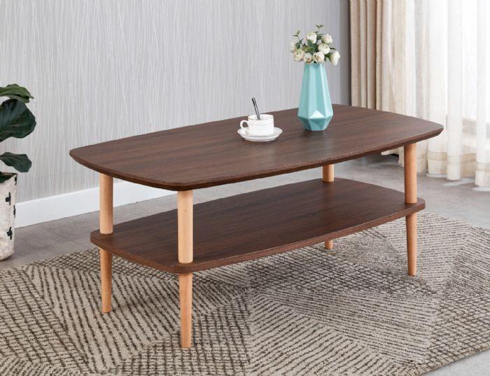 שולחן עץ לסלון # 605