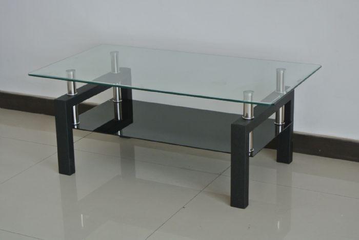 שולחן סלון זכוכית #A08-3