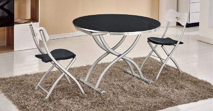 שולחן מתרומם אובאלי /עגול