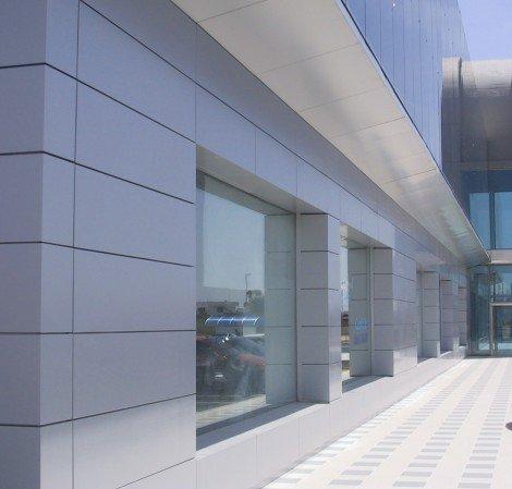 חיפוי בניין - קסטות אלומיניום
