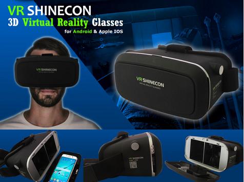 משקפי מציאות מדומה VR Glasses