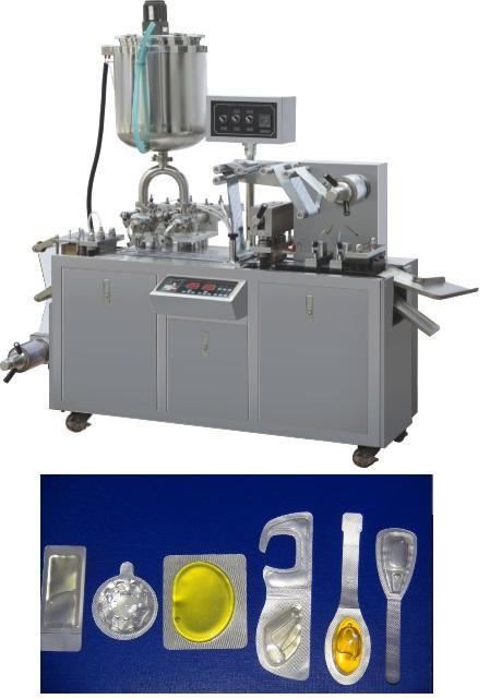 מכונת בליסטר לנוזלים ומוצקים