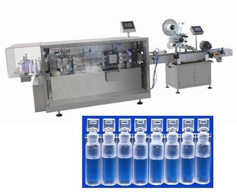 מכונת ייצור ומילוי בקבוקונים