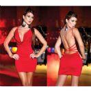 שמלה אדומה סקסית לאירועים