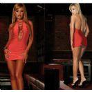 שמלה אדומה ולוהטת