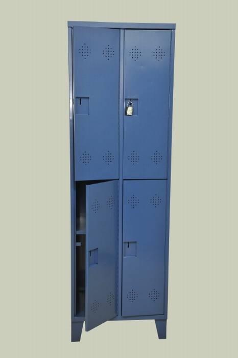 ארון הלבשה 2 קומות 4 תאים