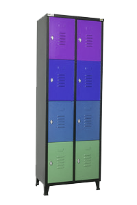 ארון לוקר 8 תאים