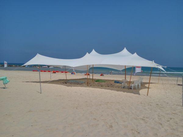 אירועים בחוף מכמורת