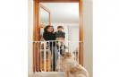 שער  מוגבה למסדרונות ללא קדיחה SH2