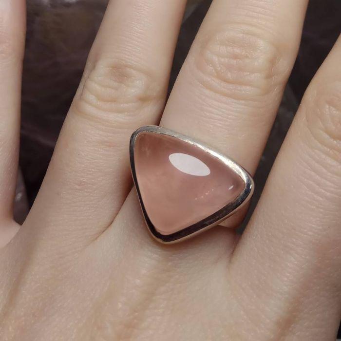 טבעת רוז קוורץ