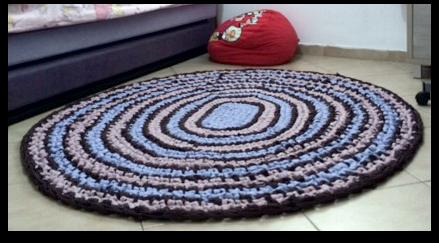 שטיח אליפסה ללא הוראות