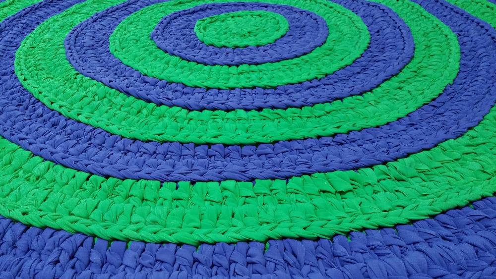 שטיח עגול בלי הוראות