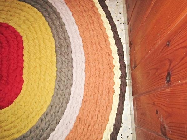 שטיח אליפסה מחבלים
